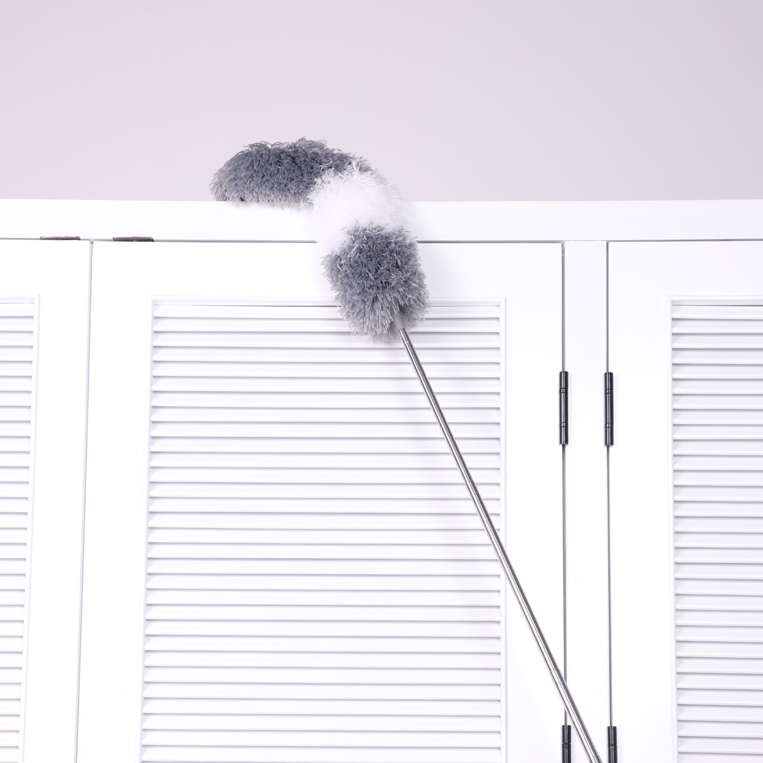 Boomjoy new design long microfiber telescopic cleaner duster with extension pole