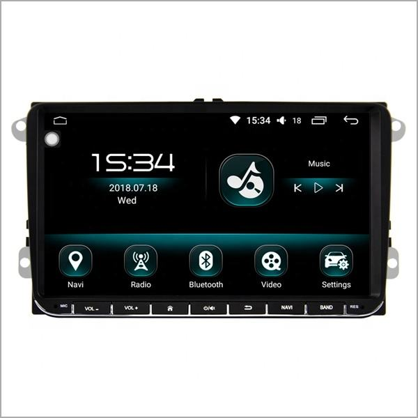 Newnavi 9 zoll 1 din auto video dashboard screen radio universal auto dvd gps 4G RAM + 64GB ROM android 10 auto stereo für <span class=keywords><strong>vw</strong></span> SERIE