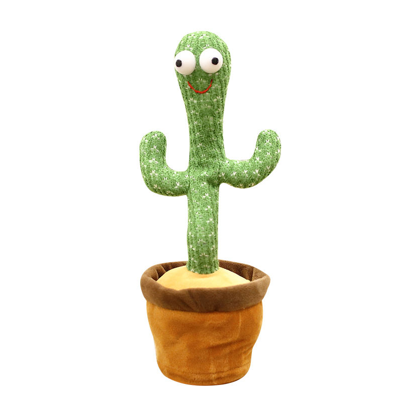 1 Cái Dancing Cactus Plush Toy