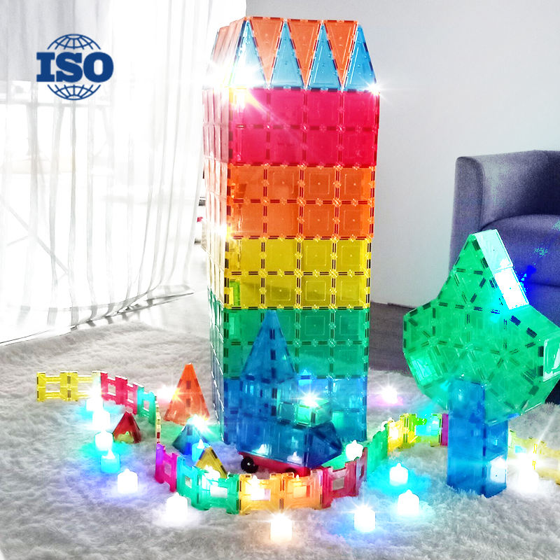 Kids Magnet Toys Educational Toys 3D Magnetic Building Blocks Set Magnet Building Tiles for kids