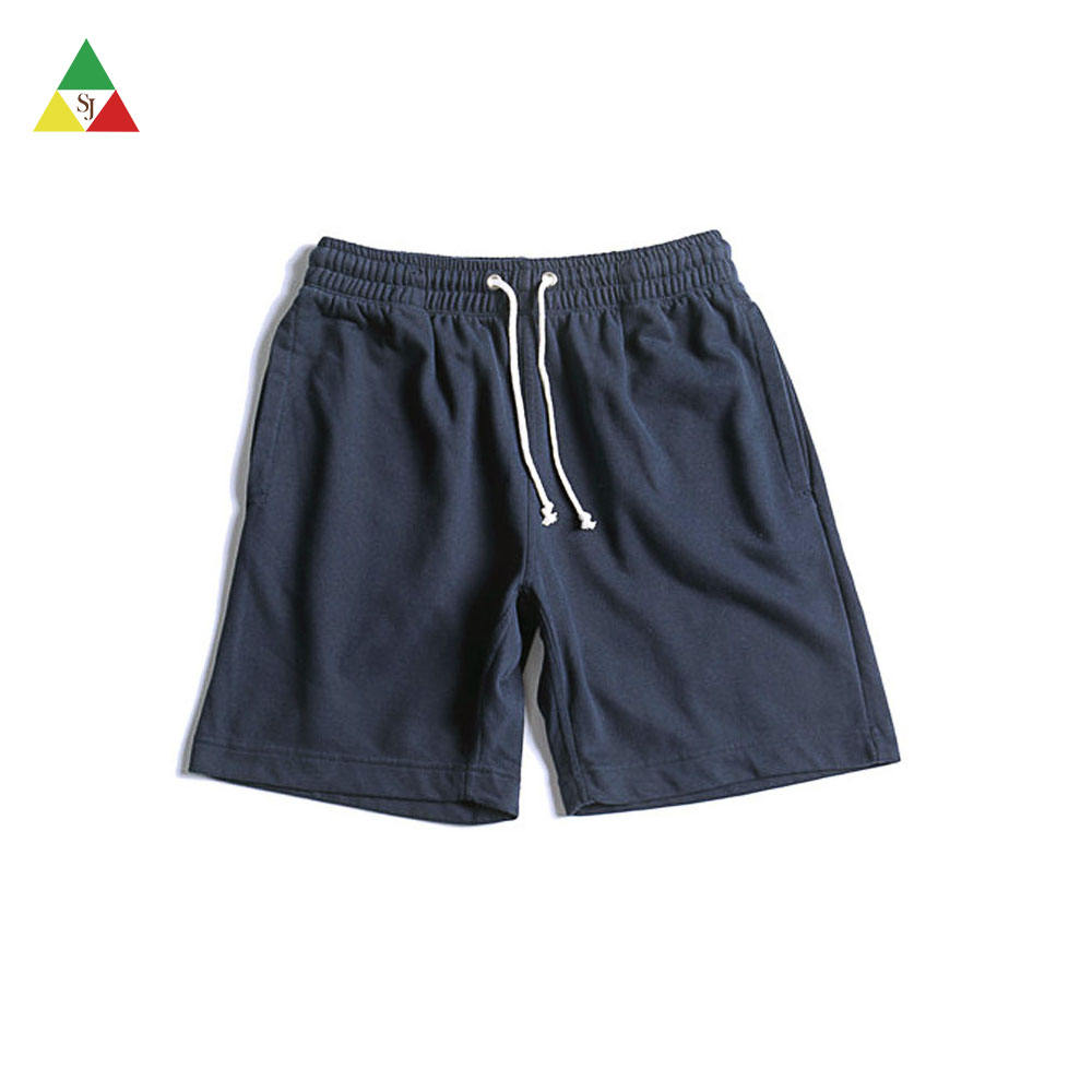 Custom 100 cotton streetwear casual sweat shorts