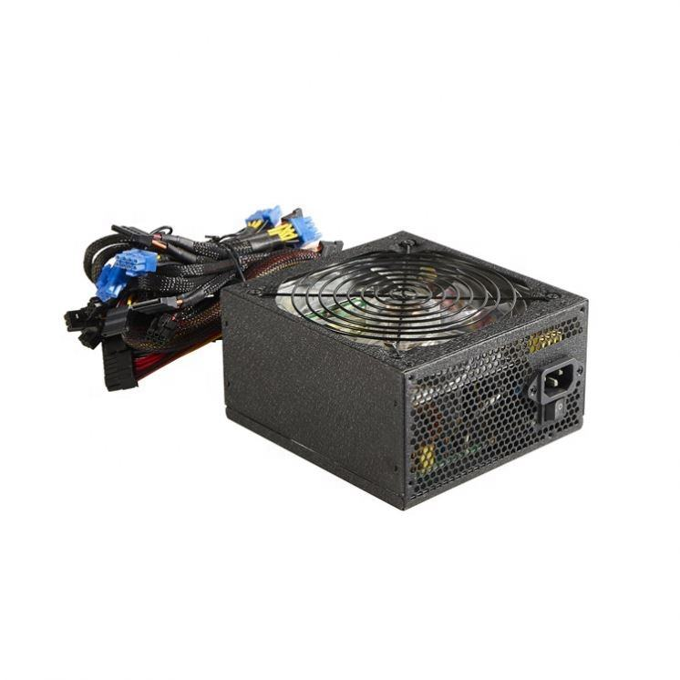 Atx Pc Power Supply 500W Apfc 80Plus Psu For Desktop