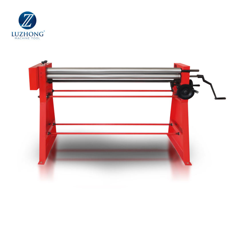 Manual Slip Rolling Machine w01-2x1250 Hand Sheet Metal Roller