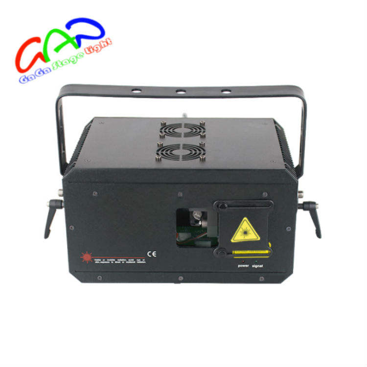 RGB laser show programmable 5W laser christmas lightsParty city Laser Show System Animation Projector