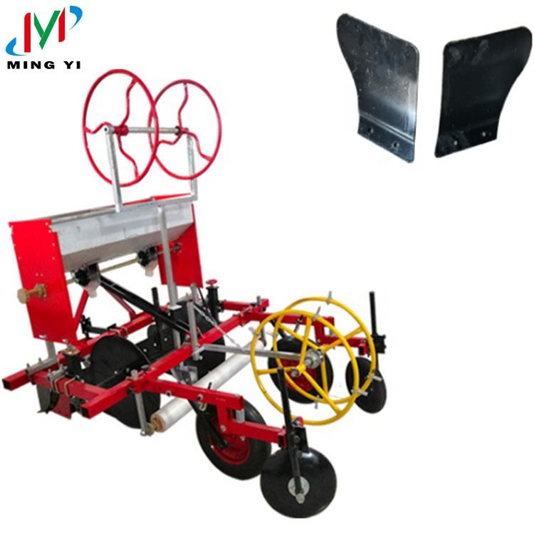 Tractor mounted paving film machine Tractor 3 point link row fertilizer applicator with ridger
