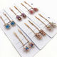 SAF 2020 Korean version of fashion hot selling exquisite diamond color women's hairpin