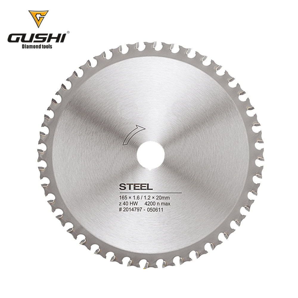 Tungsten Carbide tipped circular saw blade for Cutting Steel