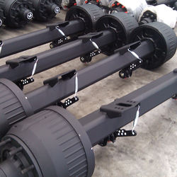China Trailer Parts Manufacture 12ton German Type Axle For Semi-trailer