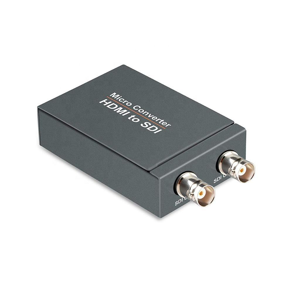 HDMI to SDI Converter One HDMI Input Two SDI Outputs 720p and 1080p Support SDI/HD-SDI/3G-SDI