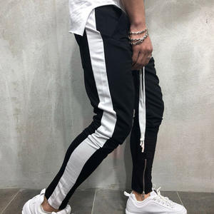 FREE Shipping Streetwear Sweatpants For Men Casual Sportswear Pants Black White Trendy Men's Hip Hop Sweatpants Trousers