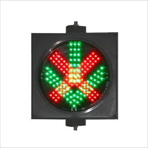 Toll station 300mm red cross green arrow traffic signal light