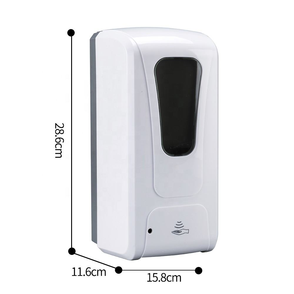 New Design electric ABS Touchless liquid automatic senor hand sanitizer Foam Soap Dispenser