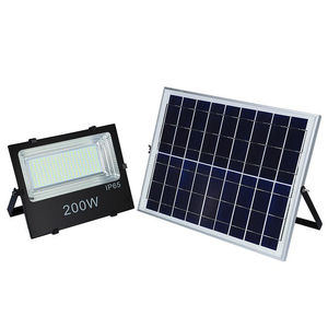 Aluminium Super Bright Energy Saving Durable Outdoor Solar Flood Light