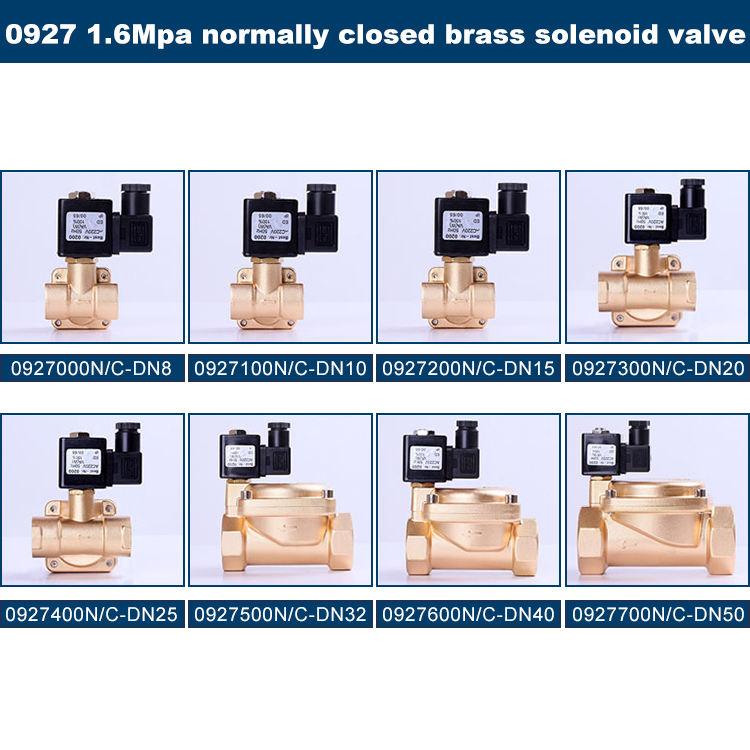 Solenoid Valve 24VDC N//C Plastic Solenoid Valve Quick Disconnect Valve for Water Filter 3//8 PE Pipes Solenoid Valve