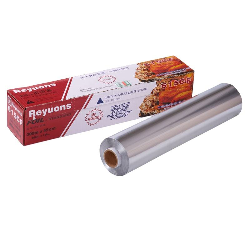 Reyuons aluminium foil food wrap BBQ tin foil good quality tin foil price