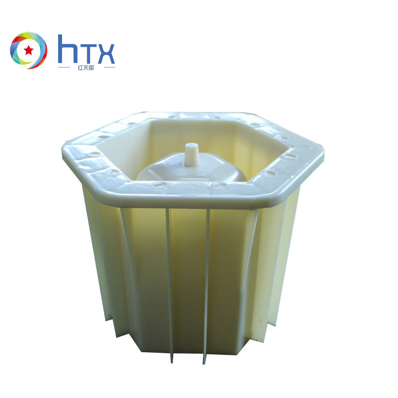 Durable flower pot plastic injection mold