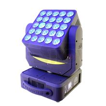 Stage flash light 25x10w matrix moving head beam dj studio lighting limitless rotation projection-based concert special effect