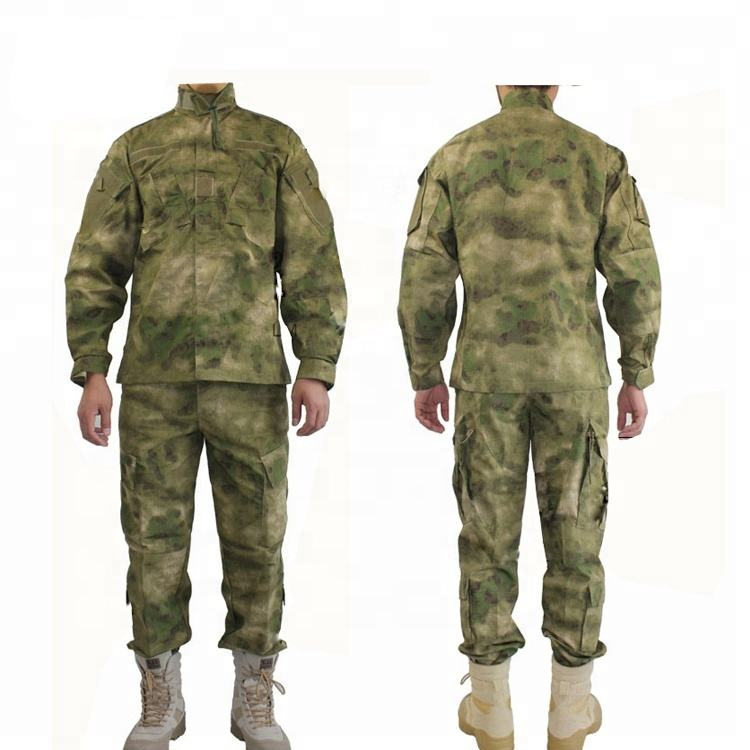 Yakeda black camo clothing ripstop ACU trousers breathable shirts and pants military uniforms