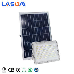 Cina Pemasok IP65 Taman Outdoor Flood Light Surya Pengisian Lampu Fixture