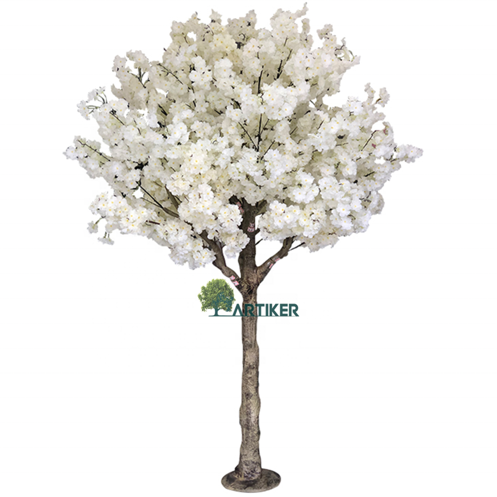 Artificial flower tree wedding simulation artificial indoor cherry blossom tree for sale