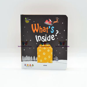 L christmas gift cartoons board books ABC children book pop-up book