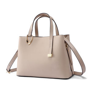 Personalized Latest Women Genuine Leather Tote Bag Classic Hand Bag Business Lady Handbag