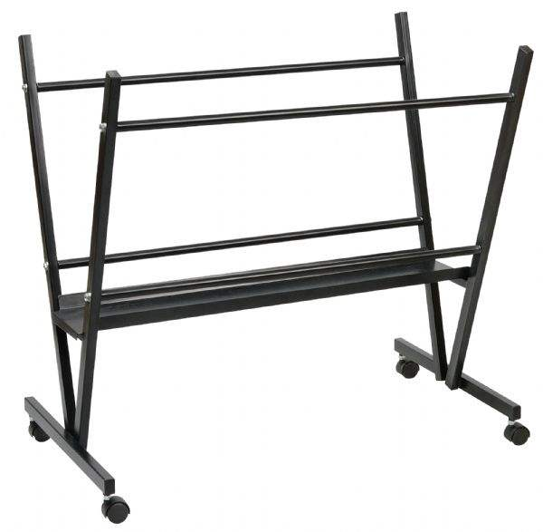 Customized high quality Arts Steel Print Rack Ideal Heavy-Duty Dumbbell Storage Rack