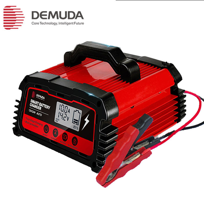 demuda AGM GEL 12v 24v intelligent run down car battery charger
