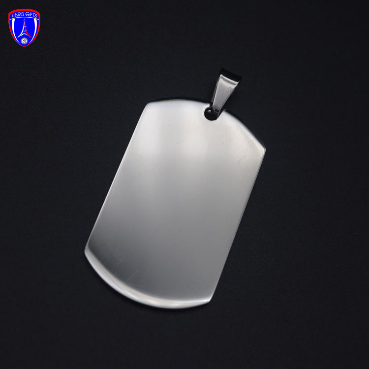 Wholesale printable blank dog tags sublimation stainless steel blank dog tag