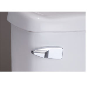 ABS Front Side Mounting Handle Single Flush Toilet Tank Lever
