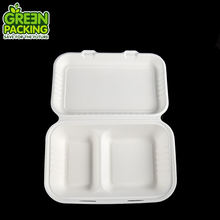 sugarcane packaging box bagasse clamshell burger box sushi pizza box biodegradable takeaway food container