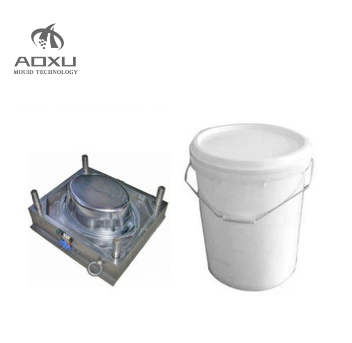 High Quality Plastic Paint Bucket Cover Mould