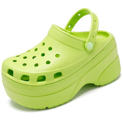 Pattrily Hot Sell Water Shoes Croc Domes Style Slip Platform