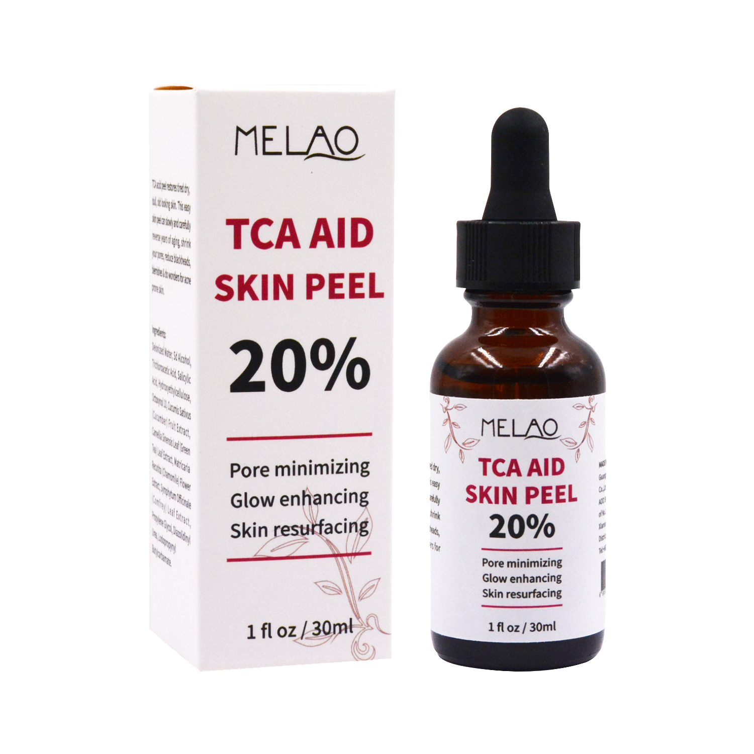 TCA acid skin peel collagen facial serum hyaluronic serum OEM pure face private label care 30ml 100%