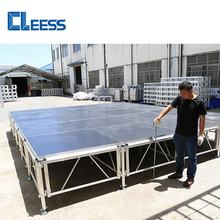 4x4 Outdoor Event All Terrain Height Adjustable Aluminum Portable Stage Platform