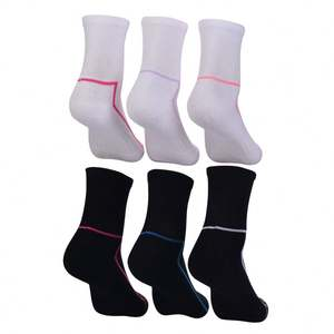 Funny mix brands ladies white ankle socks sports sock custom logo