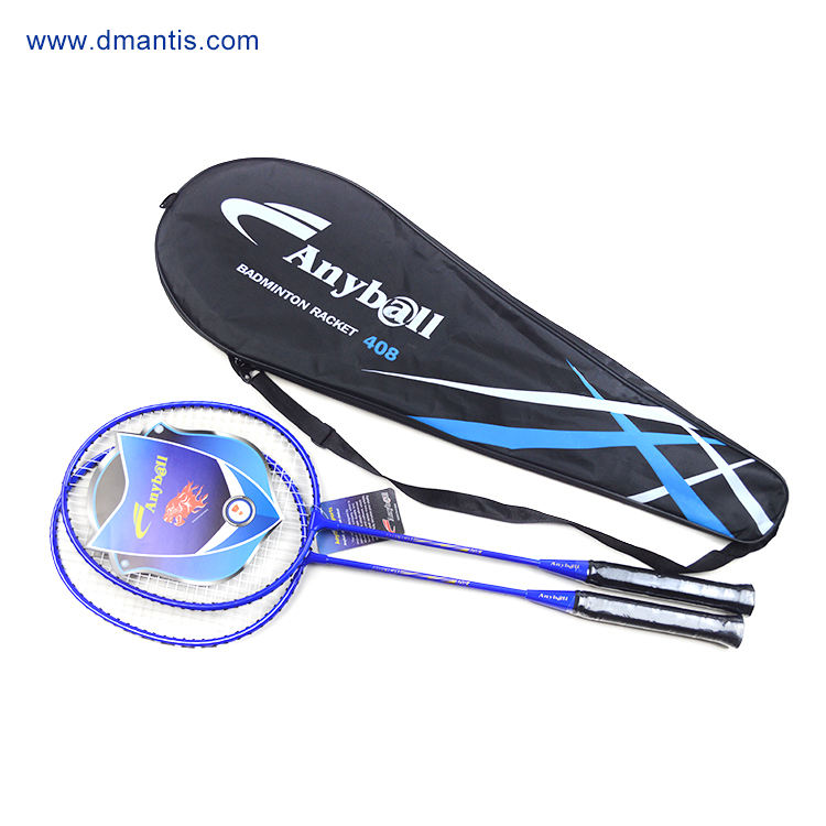 Badminton Racket Steel Material 2PCS/Set Brand Anyball 408