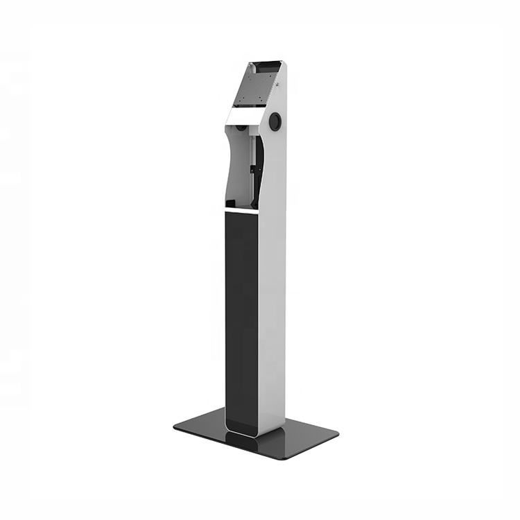 Mount security floor stand advertising digital signage display screen stand for 21.5-27 inch