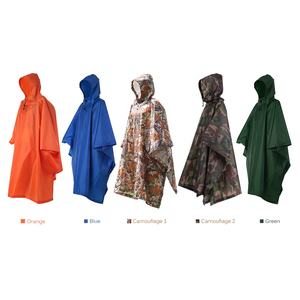 spot goods best-selling military poncho raincoat and Woodland Camo poncho