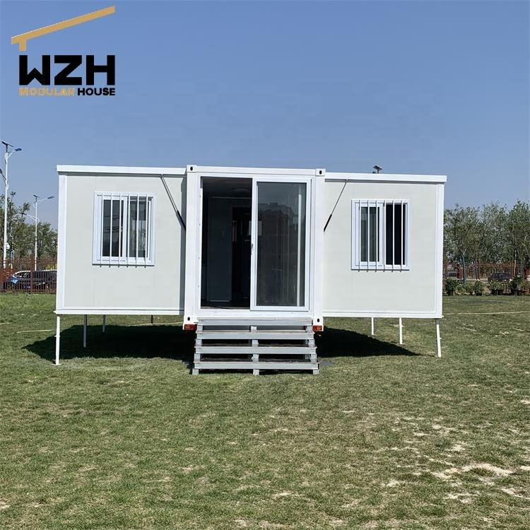 Portable prefab expandable container house foldable container office for sale