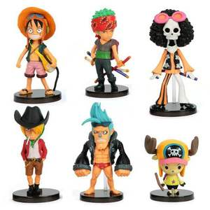 One Piece King Travel Hand Handleชุด6รุ่นQตกแต่งรถFly Fly Solong mountain Joe Baรูป