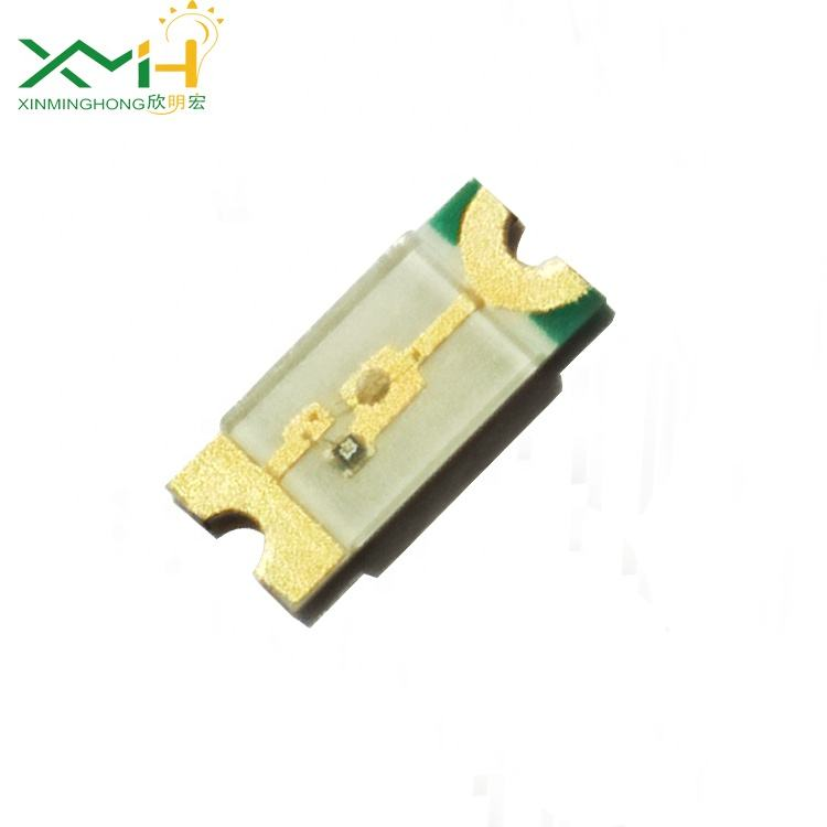 1206 0.35mm thickness green smd led