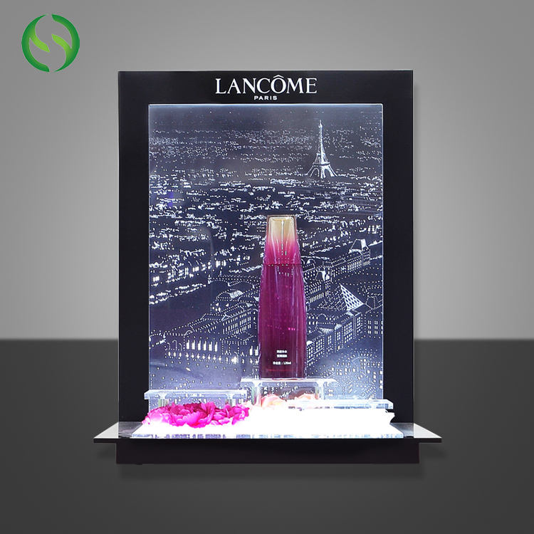 High Quality Countertop Acrylic Display Stand Cosmetic