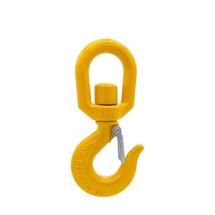 US Type Forged S322 Heavy Chain Hoist Lifting Crane Swivel Hook/lifting hoist hook
