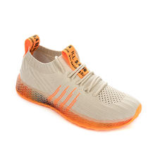 Lightweight breathable sneakers knit mesh running sport shoes