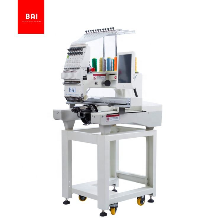 BAI free shipping dahao computerized embroidery machine prices for hat T shirt
