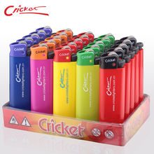Colored Disposable/Refillable Cricket Lighter Lighter