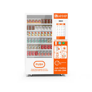 Customized Drink Snack Vending combo vending machine