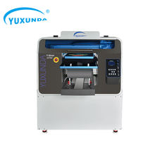 Yuxunda Good Printing Quality 12 Color Double Printer Heads T-shirt Texjet Textile UV DTG Cloth Printer Machine