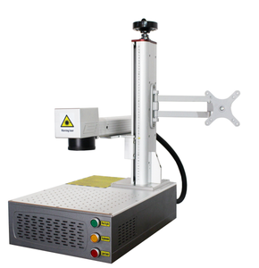 Logo maker laser fiber marking machine for jewelry